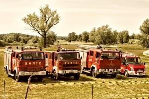 Samochody strażackie . Domacyno