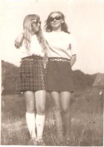 Anna Wróblewska Siwka, Elżbieta Kaczmarek-Dajcz. Domacyno 1972