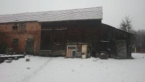 Zdjęcie współczesne. Bythe Family Butow my 2nd Field Office (Rodzina Butow mieszkała wdomu, wktórymobecnie mieszka P.Kaczmarkowa.) Domacyno