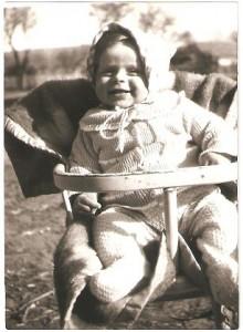 Joanna Pałka wiosna 1980r.