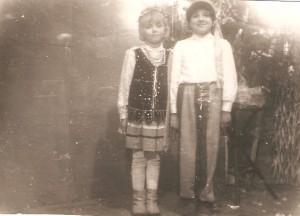 Od Prawej: Henryka Dobrowolska- Spalenia, Anna Wróblewska - Siwka Domacyno1964
