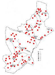 Osady, cmentarzyska, znaleziska luźne datowane nawczesne średniowiecze.