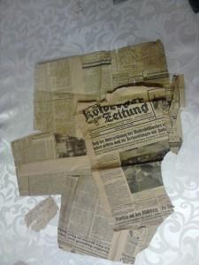 Kolberg Zeitung. Znaleziona wDomacyno 27