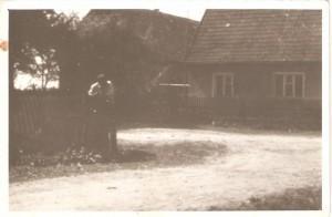 Dom należący doPaństwa Florczyków. Domacyno lata 80te.