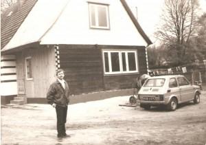 Domacyno 27, 1989r, Bogusław Pałka, betoniarka nadal działa ;)