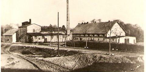 Przedwojenna fabryka Domacyno ( zdj. wł. Tolek3363)