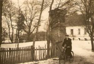 Widok naPałac wDomacynie zarch. A. Horniatki