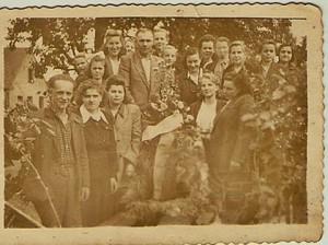 Dożynki mieszkańców Domacyna wRobuniu (zdj. zarch. Tolek3363)