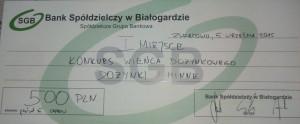 Dożynki wZwartowie Inagroda zawieniec 2015r.