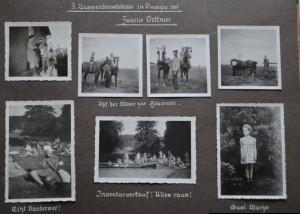 Rodzina Dettmer mieszkała tam gdzie obecnie Państwo Ręcławowiczowie, Dumzin