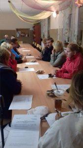 Zebranie wDomacynie - fundusz sołecki 2016r
