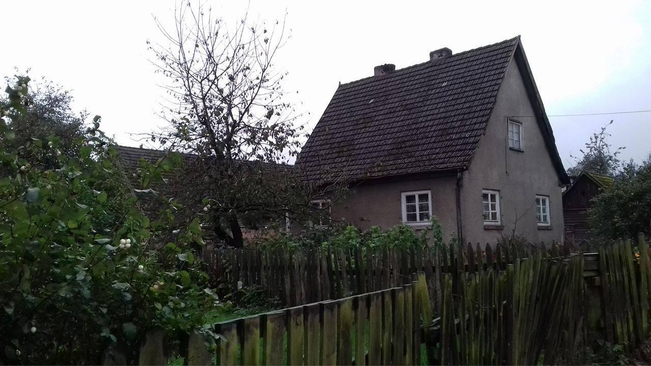 Ten sam dom, stan napaździernik 2016r.