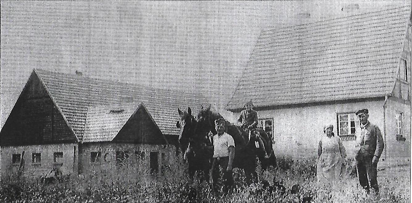 Budynki z1936 Rodzine Strege obecnie dom Pana Gunkiewicza